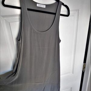 NWOT Everlane silk tank dress